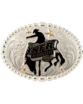 Montana Silversmiths NFR 2012 Oval Buckle, Silver, hi-res