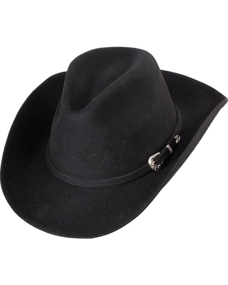 Western Express Men s Black Crushable Wool Felt Hat  2f67ed080c8