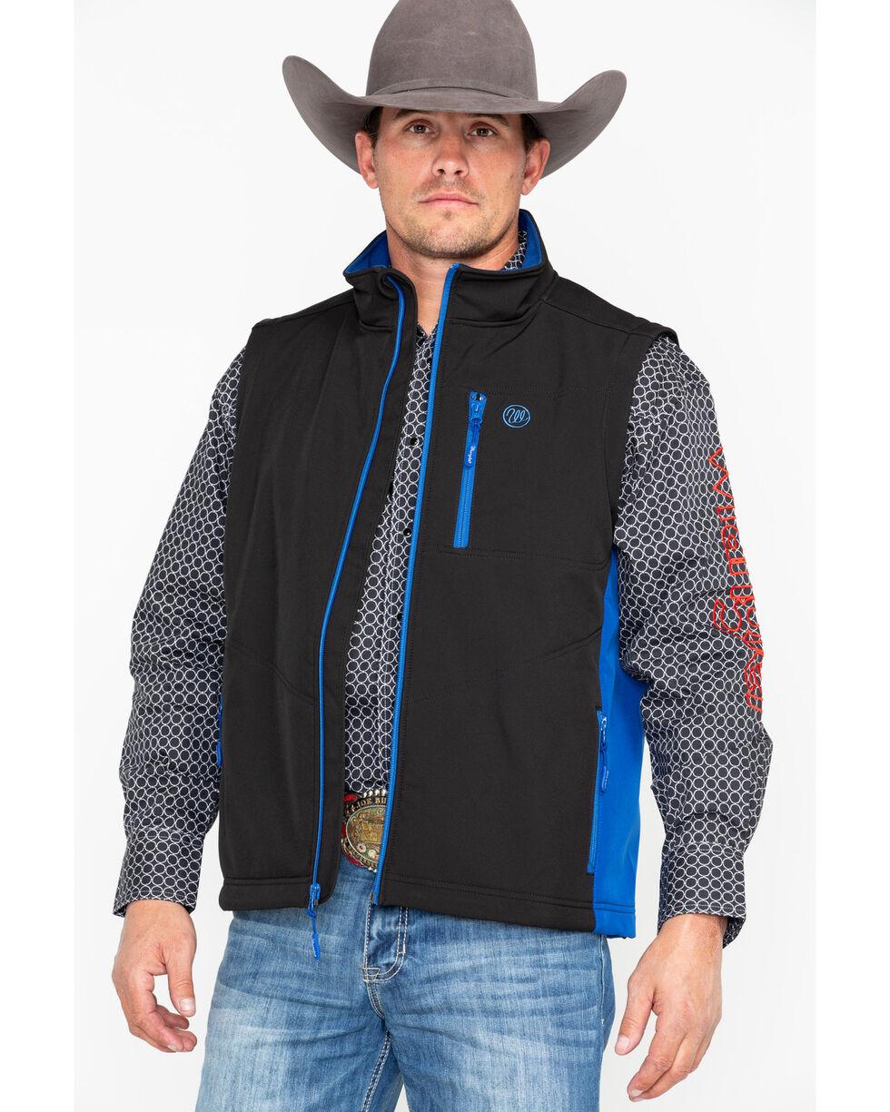 Wrangler Men's Water Resistant Trail Vest, Black, hi-res