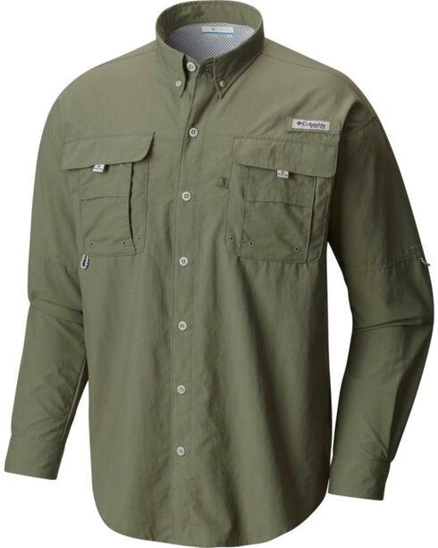 Columbia Men's Olive Bahama II Shirt , Olive, hi-res