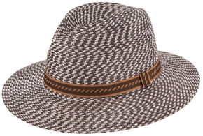 Peter Grimm Urbain Flat Brim Hat, Brown, hi-res