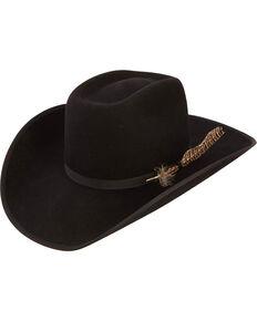 Resistol Youth Boys' Holt JR Wool Hat, Black, hi-res