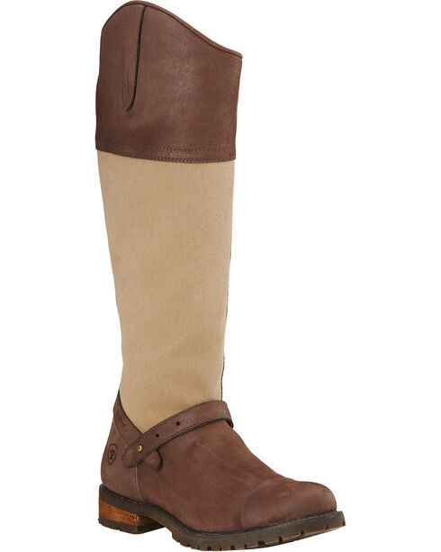 Ariat Women's Sherbourne H2O Riding Boots, Brown, hi-res
