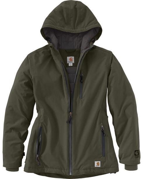 Carhartt Men's Olive Elmira Jacket , Olive, hi-res