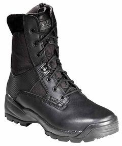 """5.11 Tactical Men's A.T.A.C 8"""" Side-Zip Boots, Black, hi-res"""
