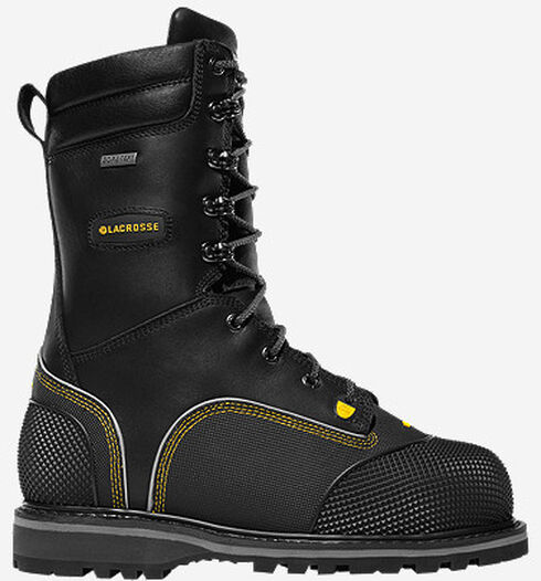 "LaCrosse Longwall II 10"" Waterproof Insulated Work Boots - Composite Toe , Black, hi-res"