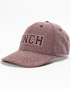 Cinch Men's Fitted Baseball Cap, Purple, hi-res
