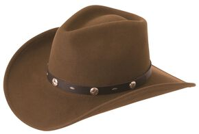 Silverado Crushable Wool Felt Hat, Serpent, hi-res
