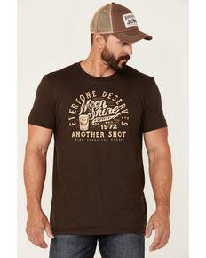Moonshine Spirit Men's Another Shot Graphic Short Sleeve T-Shirt , Dark Brown, hi-res