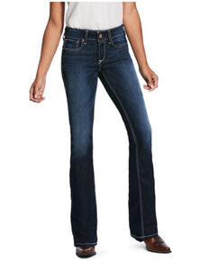 Ariat Women's Ella Supernova Bootcut Jeans, Blue, hi-res