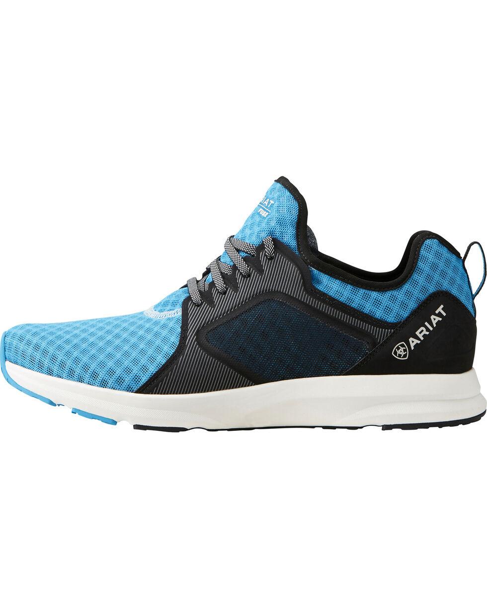 Ariat Men's Fuse Highlighter Blue Mesh Shoes, , hi-res