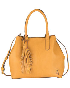 Browning Women's Brown Miranda Concealed Carry Handbag, Honey, hi-res