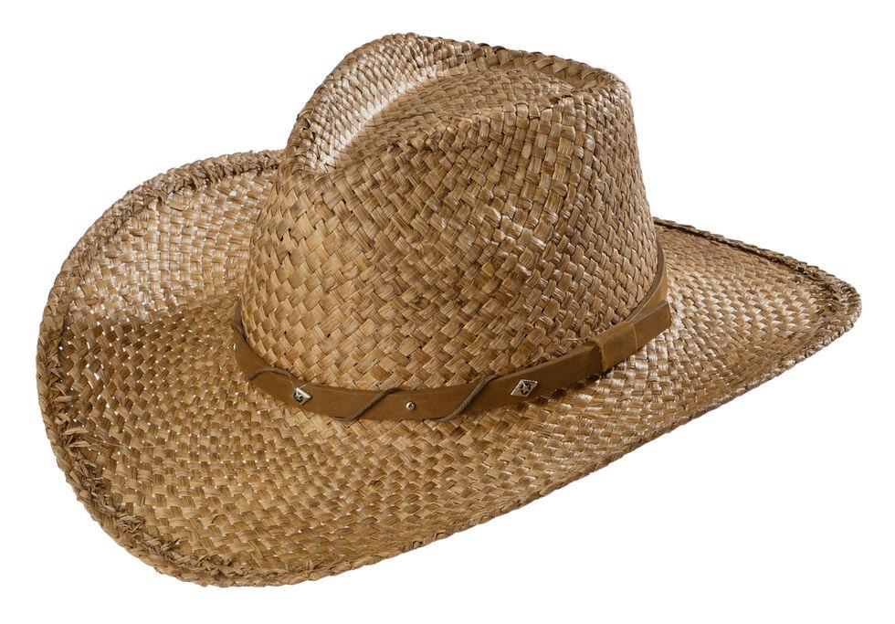 Scala Tea Moroca Straw Cowboy Hat, Tea, hi-res