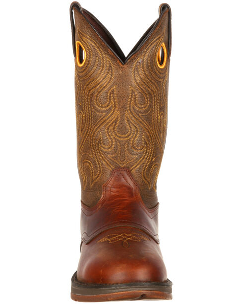 Durango Rebel Cowboy Boots, Brown, hi-res