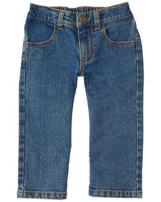 Carhartt Toddler Boys' Medium Wash Rib Waist Stretch Regular Fit Jeans , Indigo, hi-res