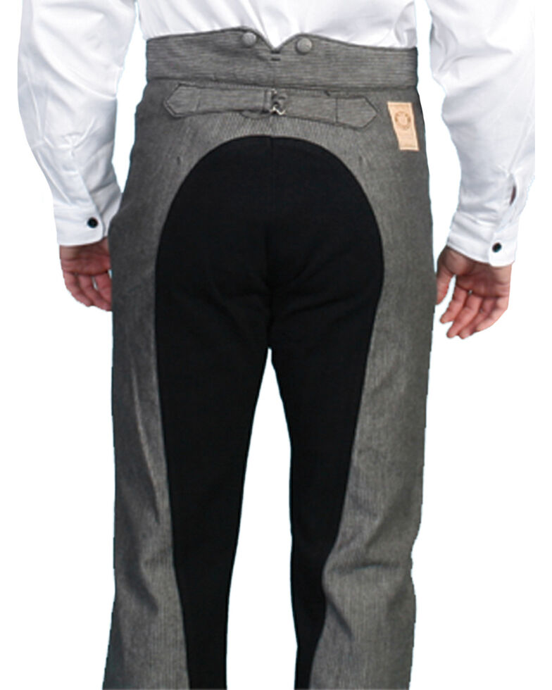 Wahmaker Old West by Scully Saddle Cut Pants, Black, hi-res