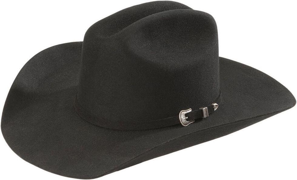 Resistol Squared Challenger 5X Fur Felt Cowboy Hat  a91ac553165