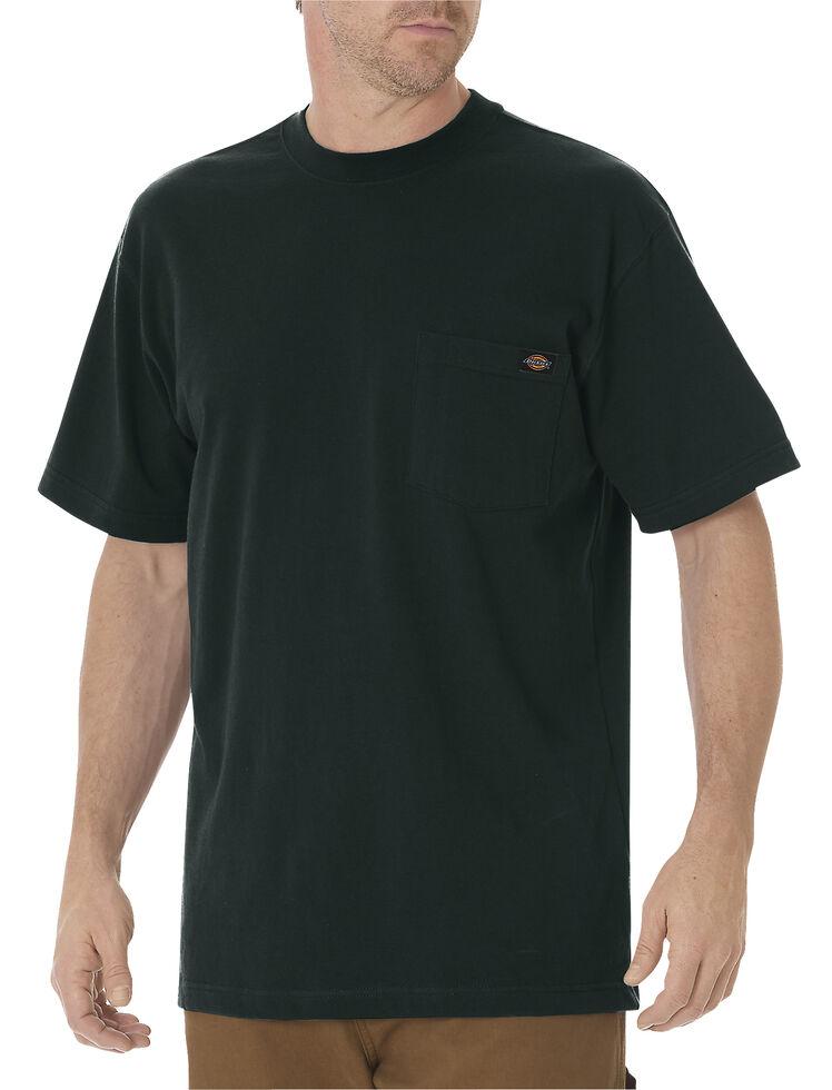 Dickies Men's Short Sleeve Heavyweight T-Shirt, Hunter Green, hi-res