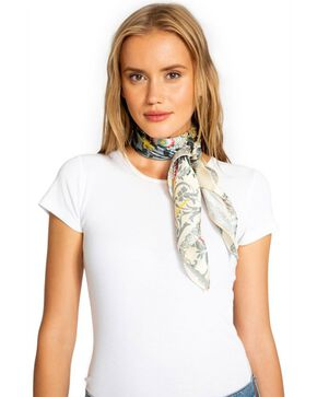 Johnny Was Women's Fran Silk Scarf, Multi, hi-res