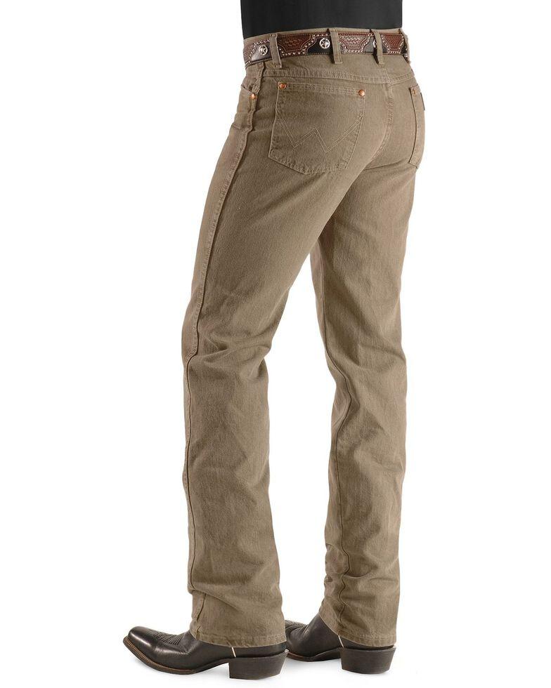 Wrangler Men's 936 Cowboy Cut Slim Fit Jeans - Prewashed Colors, Trail Dust, hi-res