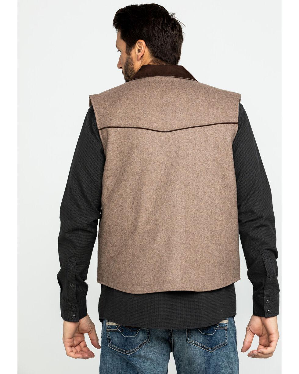 Cripple Creek Ranger Micro Suede Vest , Cream, hi-res