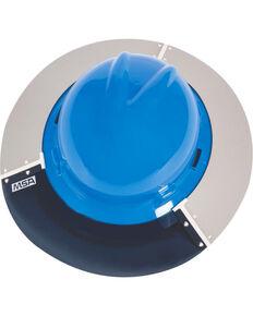 MSA V-Gard Helmet Sun Shield, White, hi-res