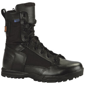 5.11 Tactical Men's Skyweight Waterproof Side-Zip Boots, Black, hi-res
