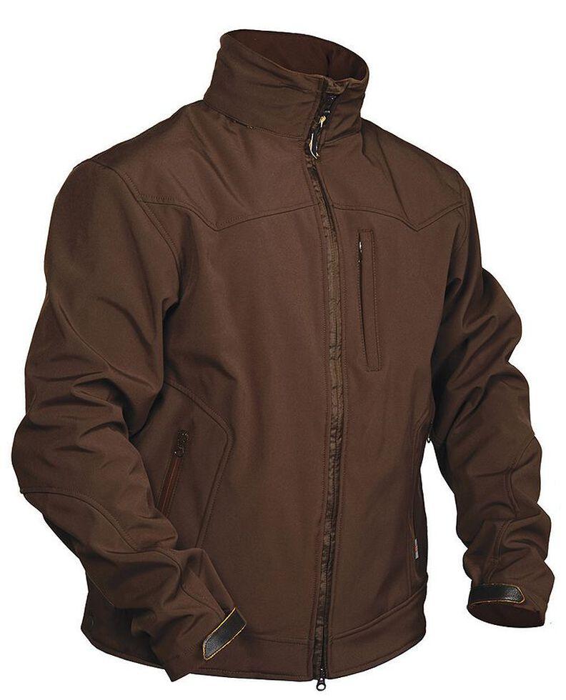 STS Ranchwear Men's Young Gun Brown Jacket - Big & Tall - 4XL, Brown, hi-res