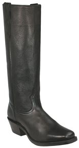 Boulet Shooter Cowboy Boots - Square Toe, Black, hi-res