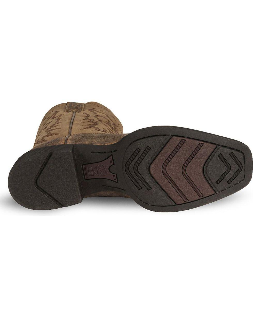 Ariat Heritage Reinsman Cowboy Boots - Square Toe, Earth, hi-res