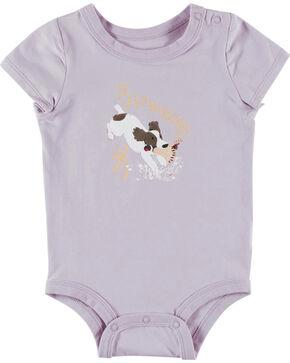 Browning Infant Boys' Grey Chipmuck Onesie , Lavender, hi-res