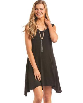 Panhandle Women's Knit Tank Dress, Black, hi-res