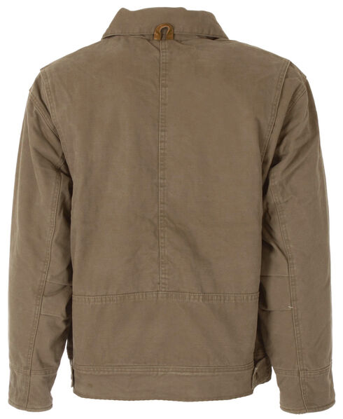 Berne Hickory Washed Aviator Jacket - 3XL and 4XL, Brown, hi-res
