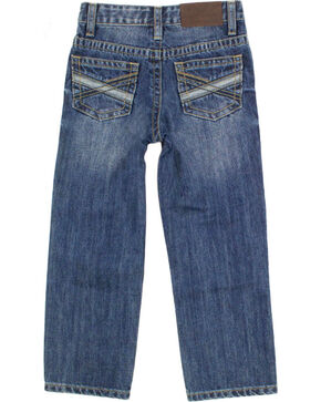 Cody James Boys' Medium Wash Straight Leg Jeans , Blue, hi-res