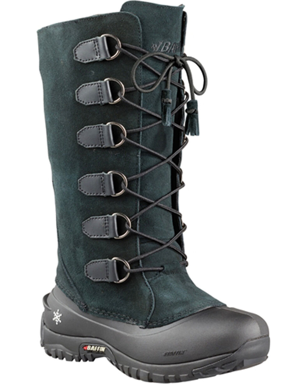 Baffin Women's Ultralite Series Coco Waterproof Boots - Round Toe , Black, hi-res