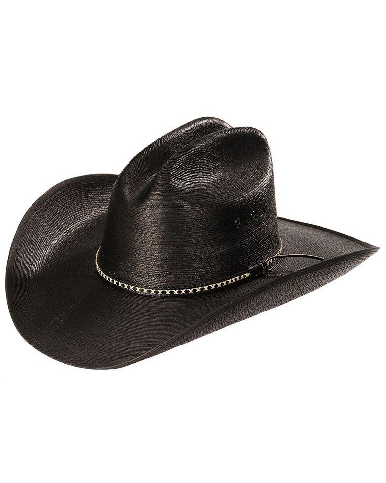 Jason Aldean Asphalt Cowboy Palm Leaf Cowboy Hat, Black, hi-res