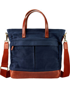 Timberland Women's Nantasket Canvas and Leather All-Purpose Bag  , Navy, hi-res