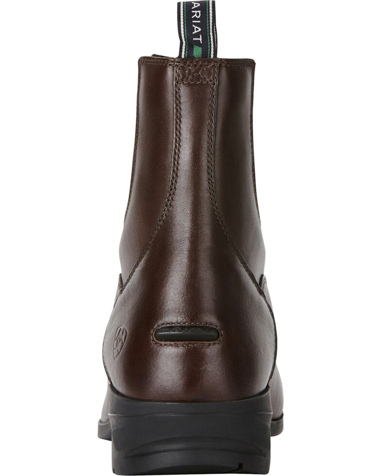 cheap for sale outlet on sale separation shoes Ariat Men's Brown Heritage IV Zip Paddock Boots - Round Toe