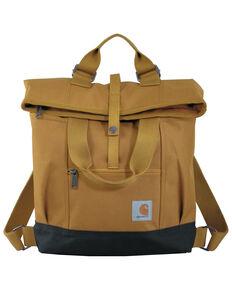 Carhartt Women's Brown Hybrid Backpack, Brown, hi-res
