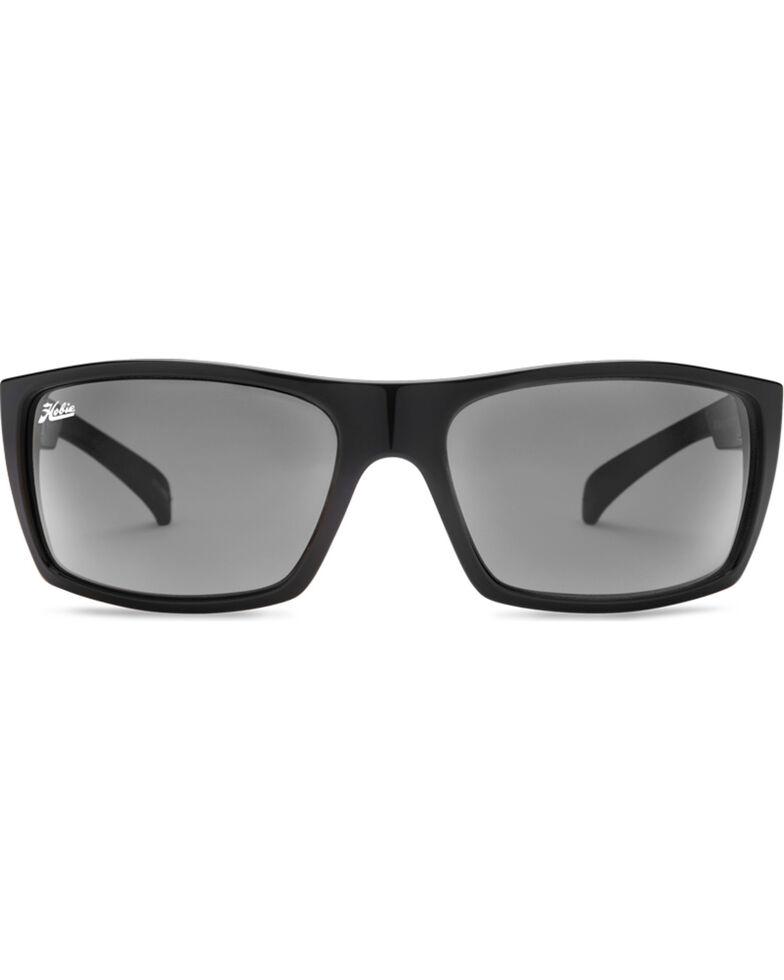 Hobie Men's Shiny Black Baja Polarized Sunglasses, Black, hi-res