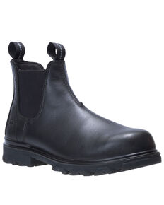Wolverine Men's I-90 EPX Romeo Work Boots - Composite Toe, Black, hi-res