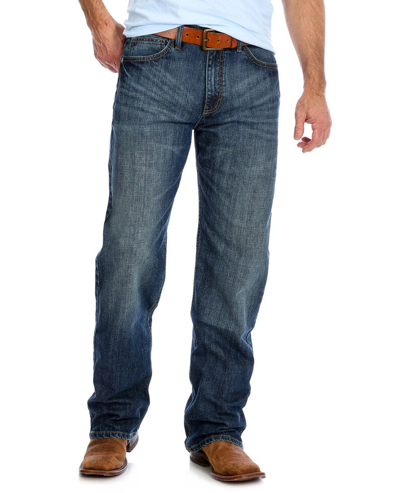 Wrangler 20X Men's Hampton Extreme Relaxed Boot Jeans , Blue, hi-res