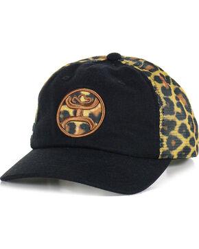 HOOey Women's Leopard Logo Baseball Cap, Leopard, hi-res