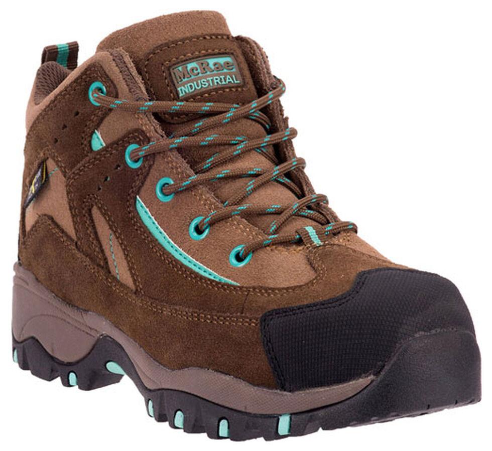 McRae Women's Poron XRD Met Guard Hiker Boots - Composite Toe, Brown, hi-res
