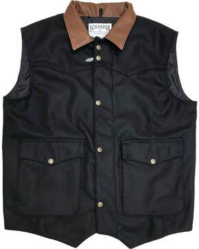 Schaefer Outfitter Men's 713 Wool Cattleman Vest - 2XL, Black, hi-res