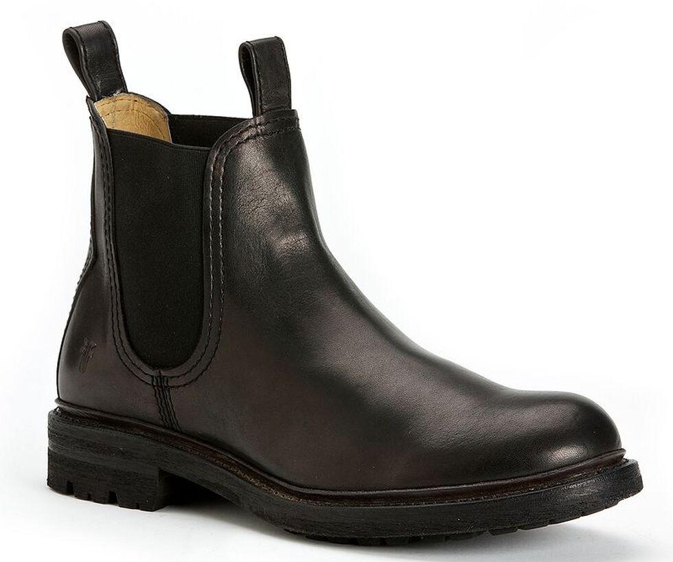 Frye Men's Freemont Chelsea Boots - Round Toe, Black, hi-res