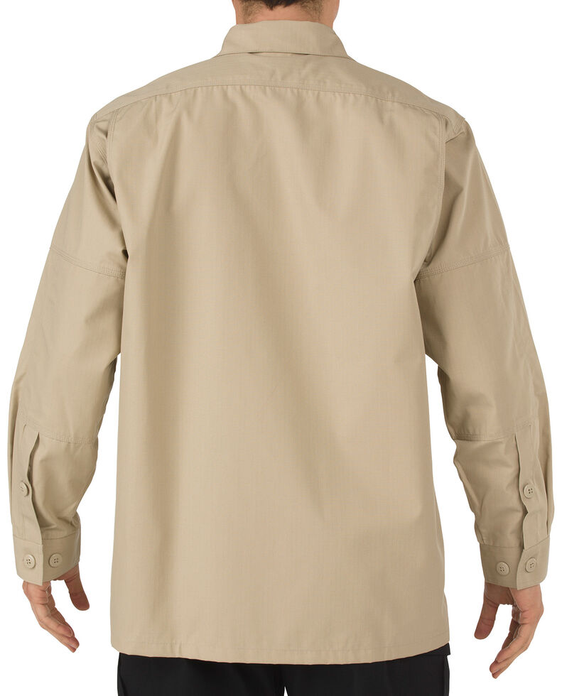 5.11 Tactical Ripstop TDU Long Sleeve Shirt - 3XL and 4XL, Khaki, hi-res