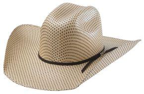 82ddfab49f8de Tony Lama Rio Spotted Sheridan Straw Cowboy Hat
