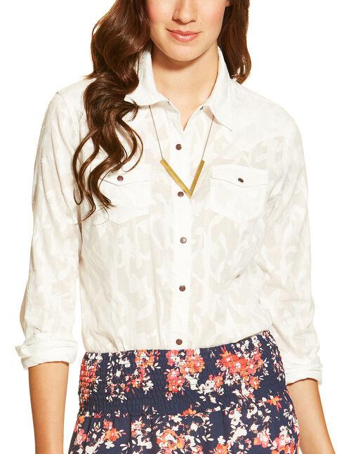 Ariat Women's Maggie Snap Shirt, , hi-res