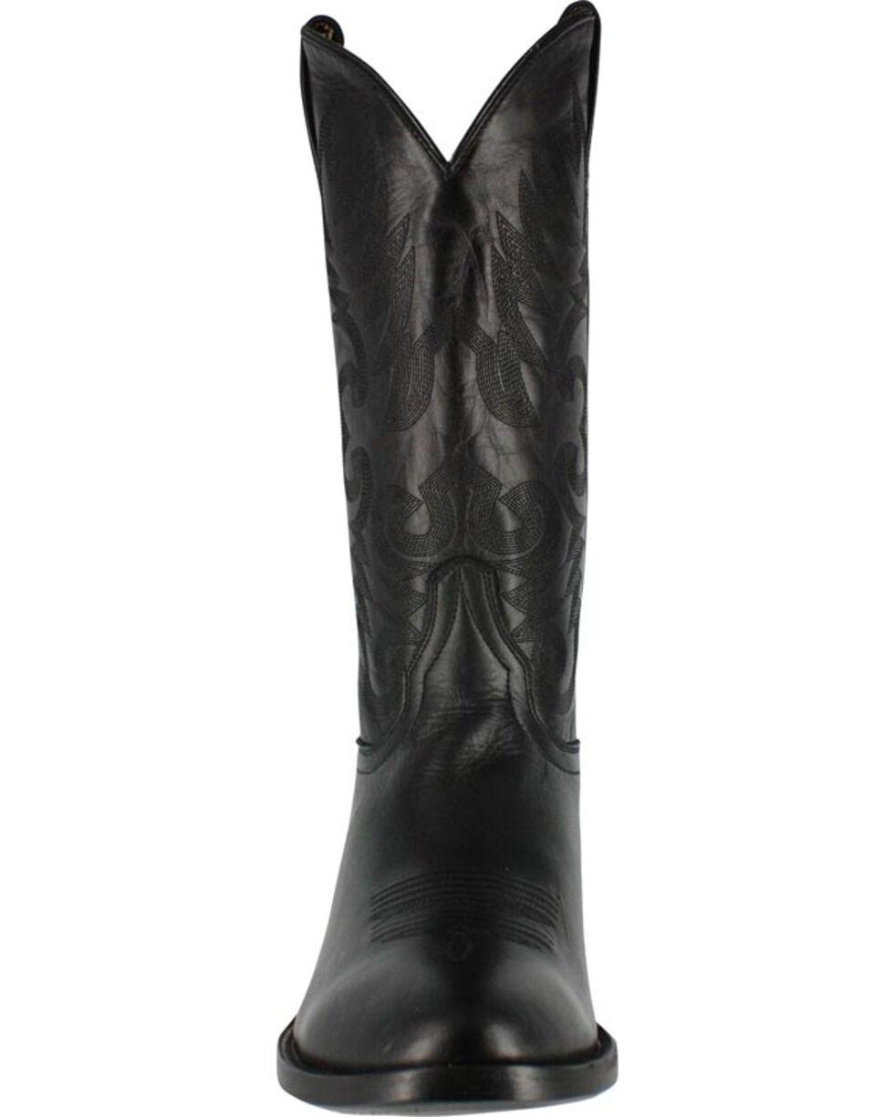 Cody James Men's Narrow Round R Toe Western Boots , Black, hi-res